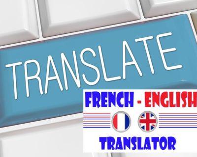 OBTENEZ LA TRADUCTION PARFAITE DE VOS DOCUMENTS DE L'ANGLAIS AU FRANÇAIS ET VICE-VERSA EN MOINS DE 36 HEURES